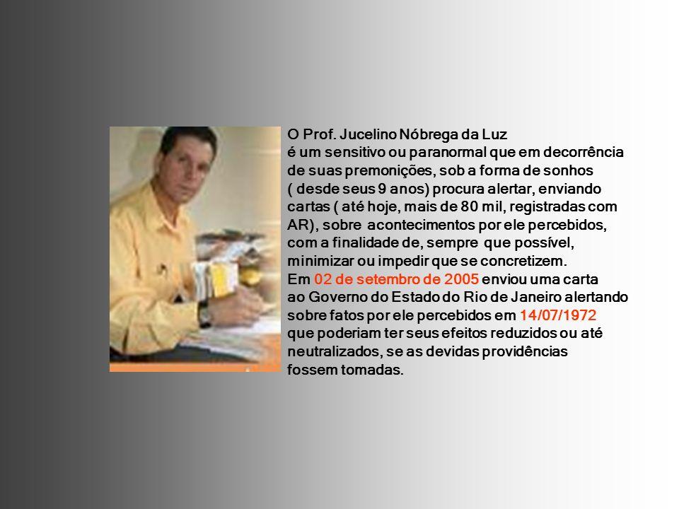 O Prof. Jucelino Nóbrega da Luz