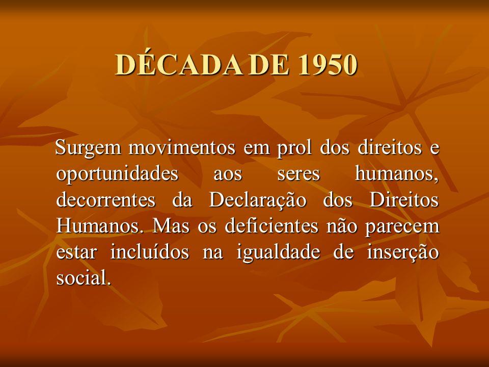 DÉCADA DE 1950