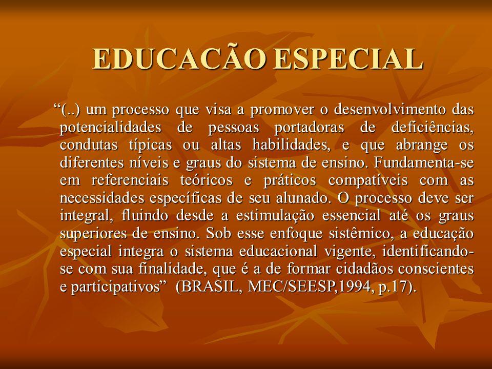 EDUCACÃO ESPECIAL