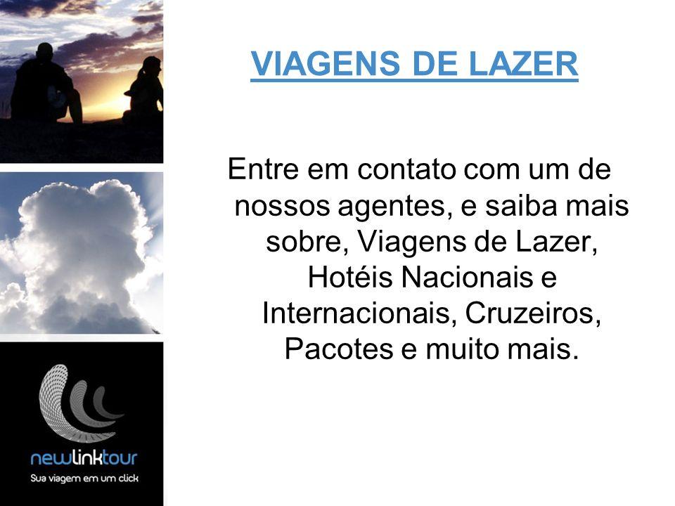 VIAGENS DE LAZER