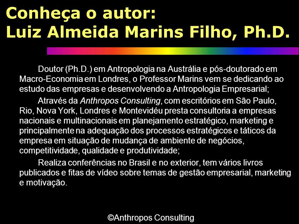 Conheça o autor: Luiz Almeida Marins Filho, Ph.D.
