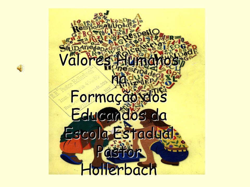 Formação dos Educandos da Escola Estadual Pastor Hollerbach