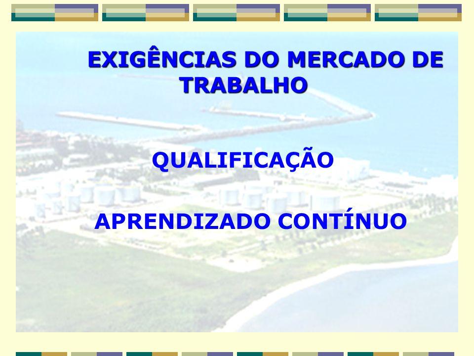 EXIGÊNCIAS DO MERCADO DE TRABALHO