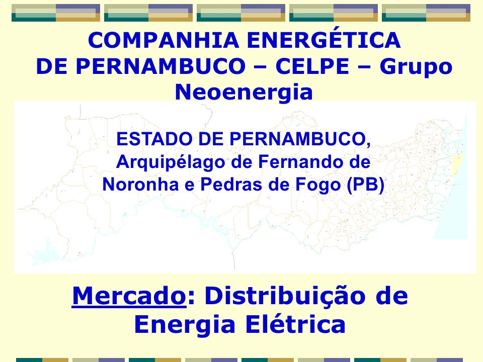 Mercado: Distribuição de Energia Elétrica