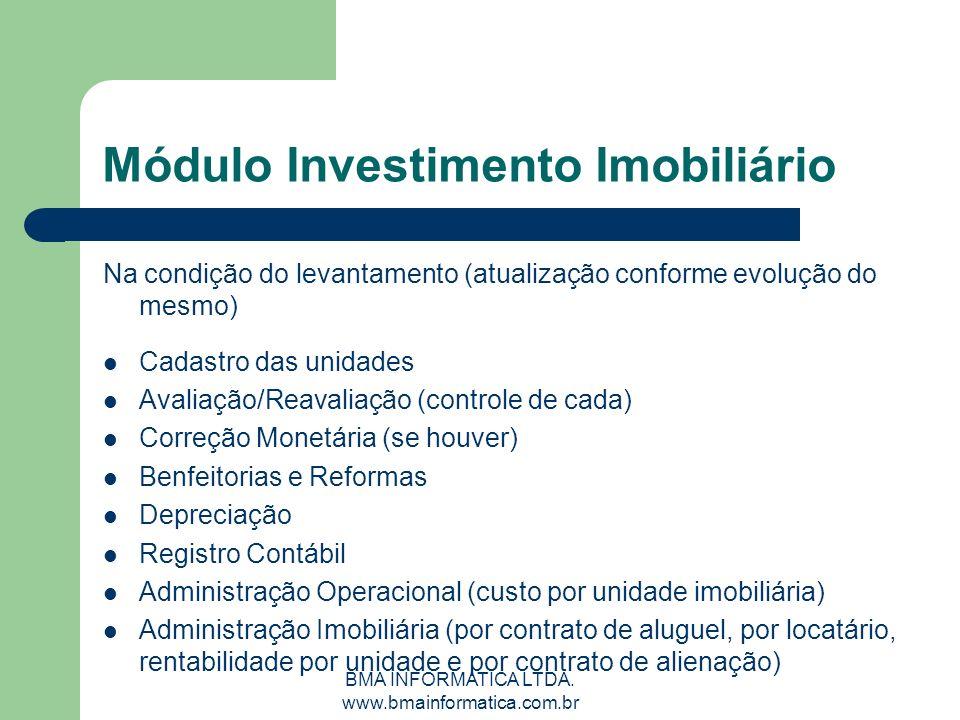 Módulo Investimento Imobiliário