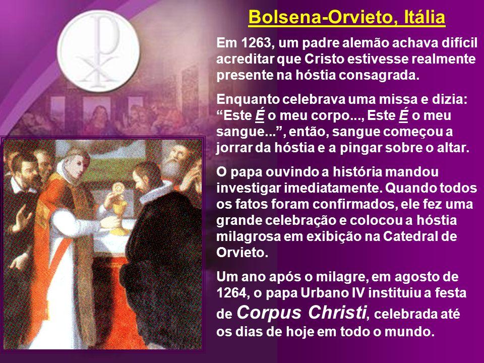Bolsena-Orvieto, Itália