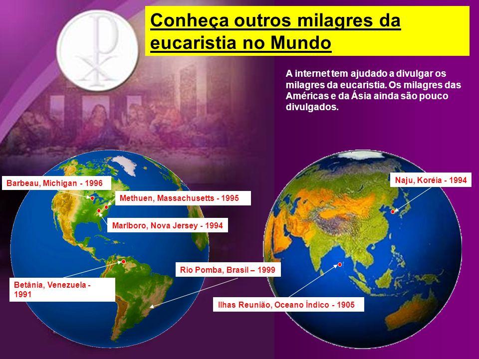Conheça outros milagres da eucaristia no Mundo