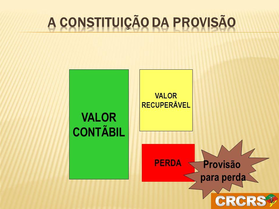 A constituição da Provisão