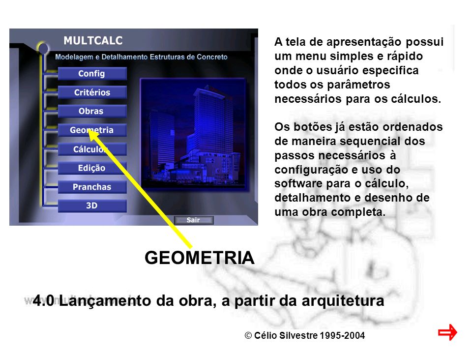 GEOMETRIA 4.0 Lançamento da obra, a partir da arquitetura