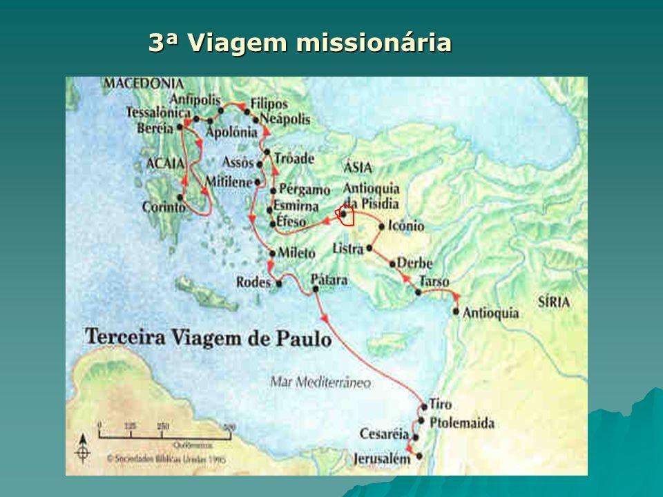 3ª Viagem missionária