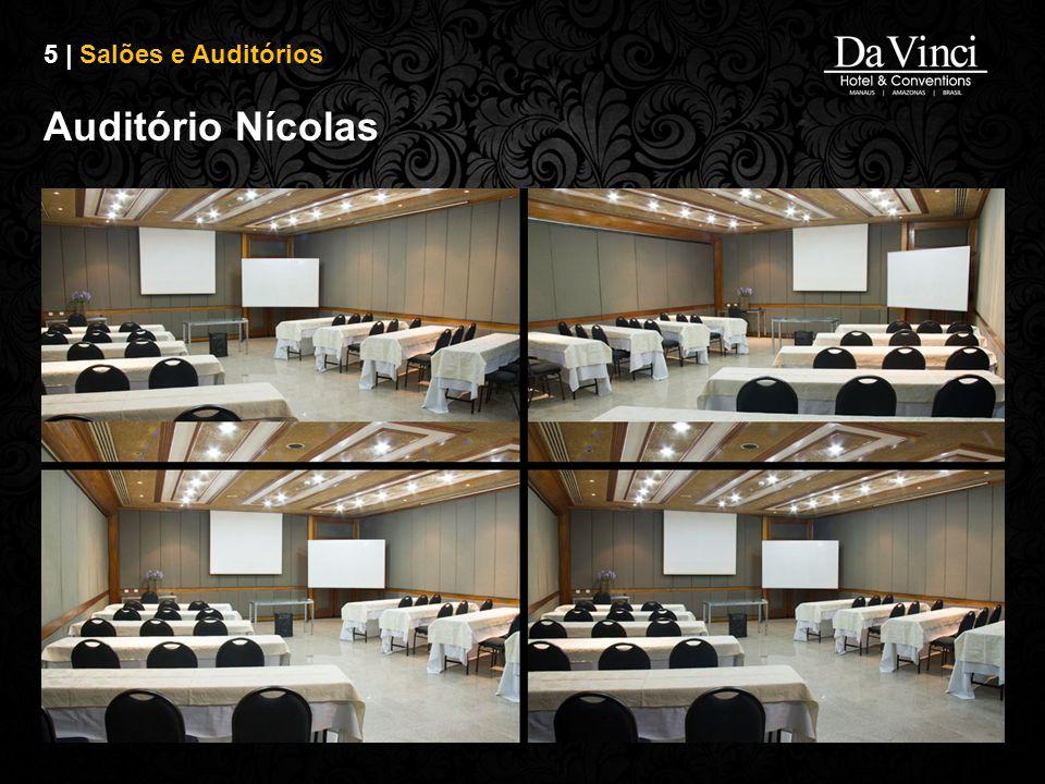 5 | Salões e Auditórios Auditório Nícolas