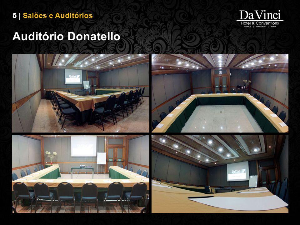 5 | Salões e Auditórios Auditório Donatello