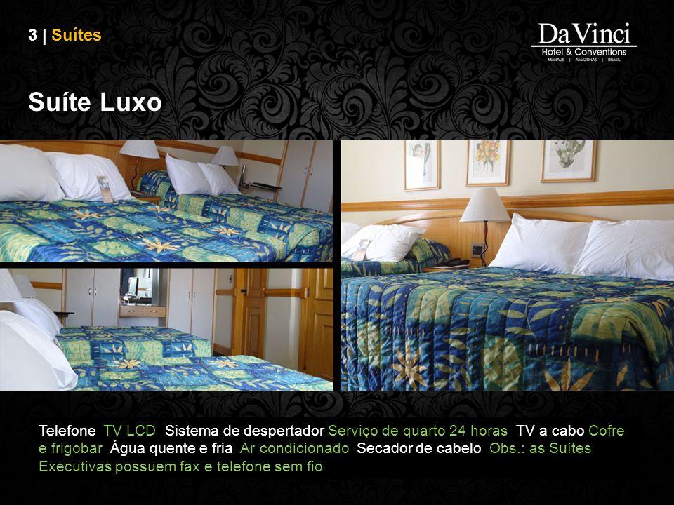 3 | Suítes Suíte Luxo.