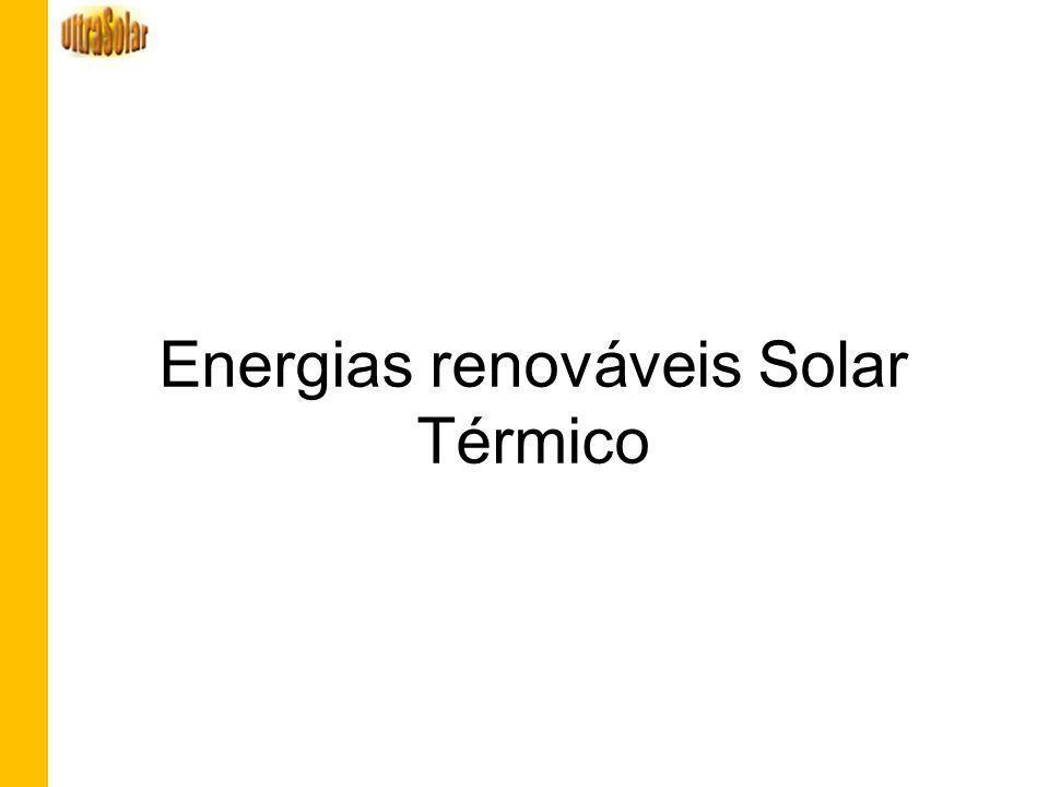 Energias renováveis Solar Térmico
