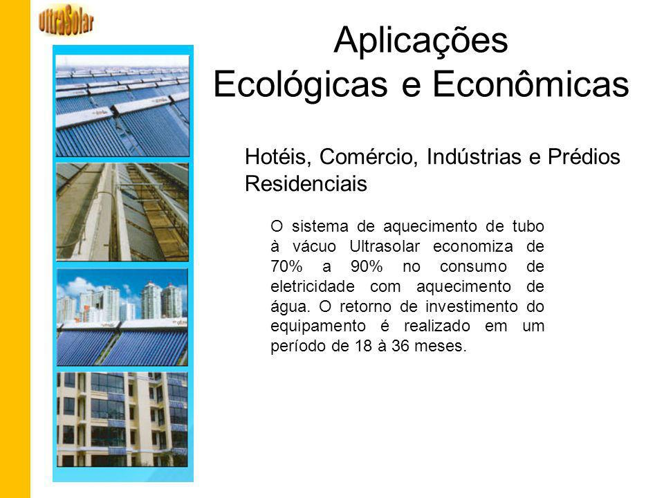Aplicações Ecológicas e Econômicas