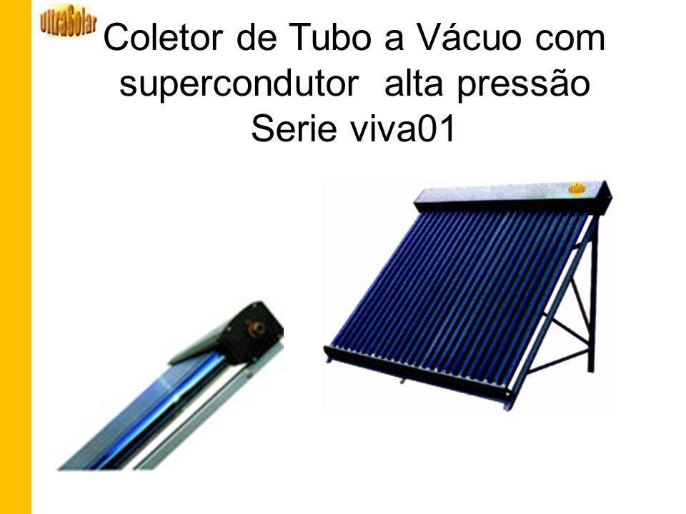 Coletor de Tubo a Vácuo com supercondutor alta pressão