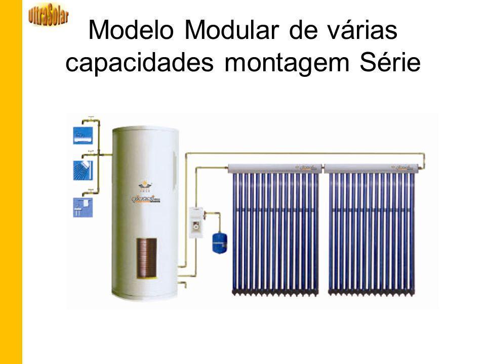 Modelo Modular de várias capacidades montagem Série