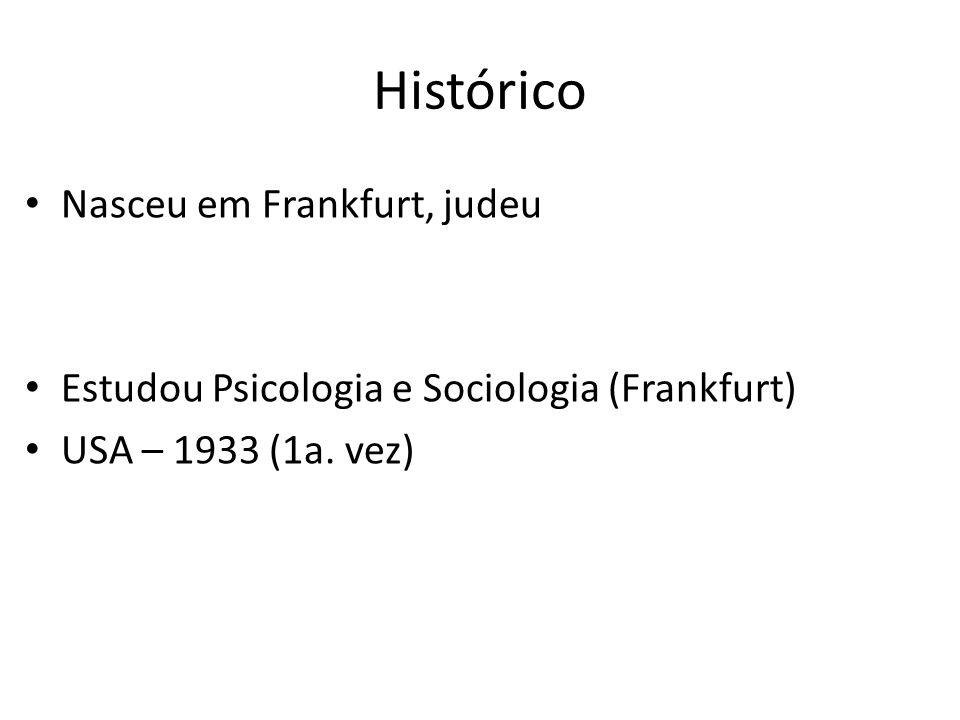 Histórico Nasceu em Frankfurt, judeu