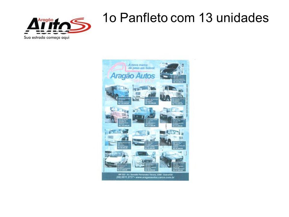 1o Panfleto com 13 unidades