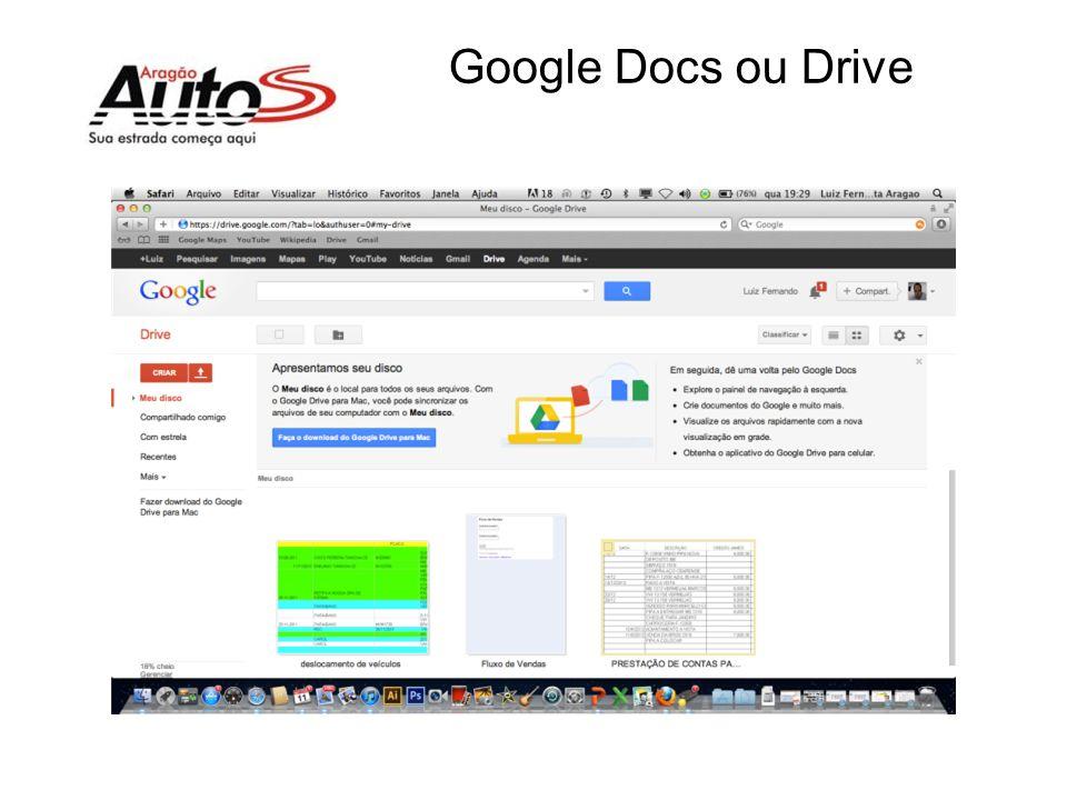 Google Docs ou Drive
