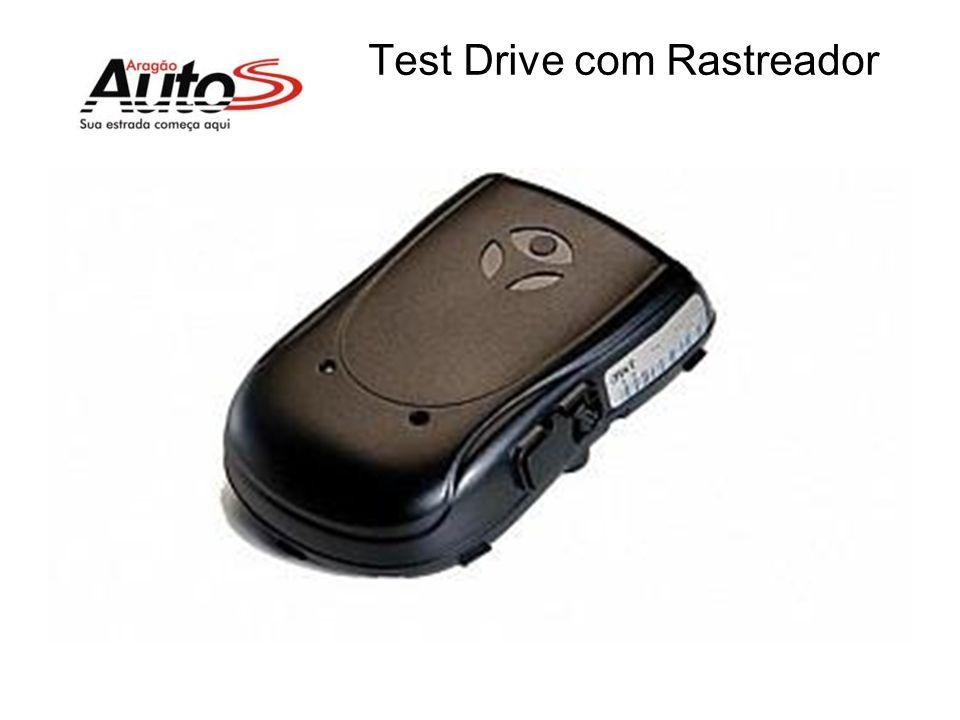 Test Drive com Rastreador