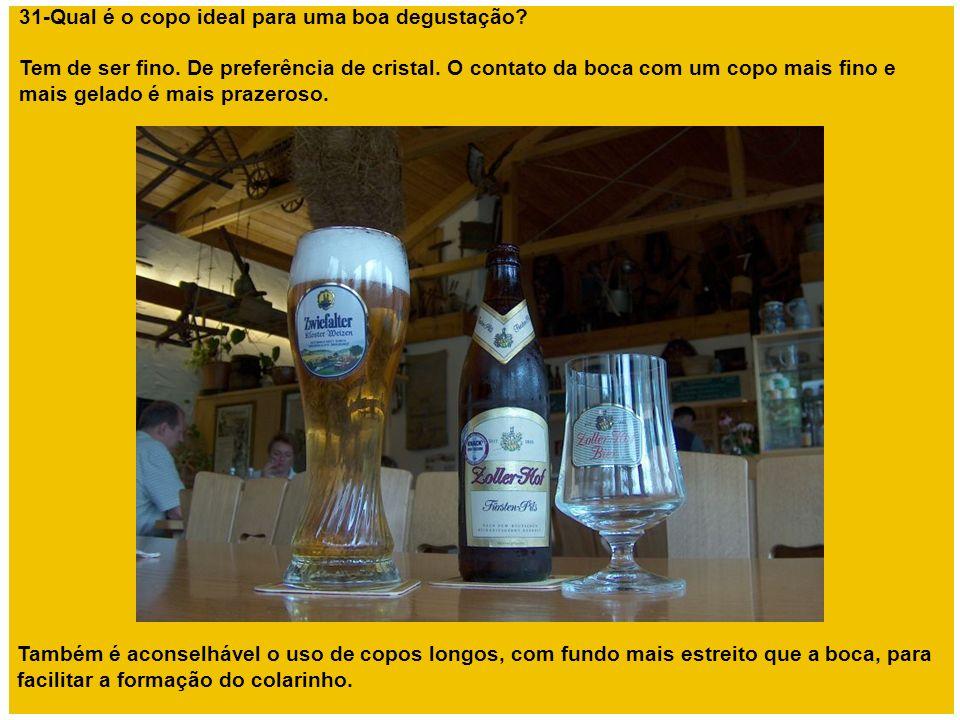 31-Qual é o copo ideal para uma boa degustação