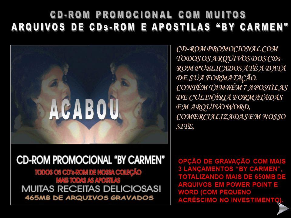 ACABOU CD-ROM PROMOCIONAL COM MUITOS