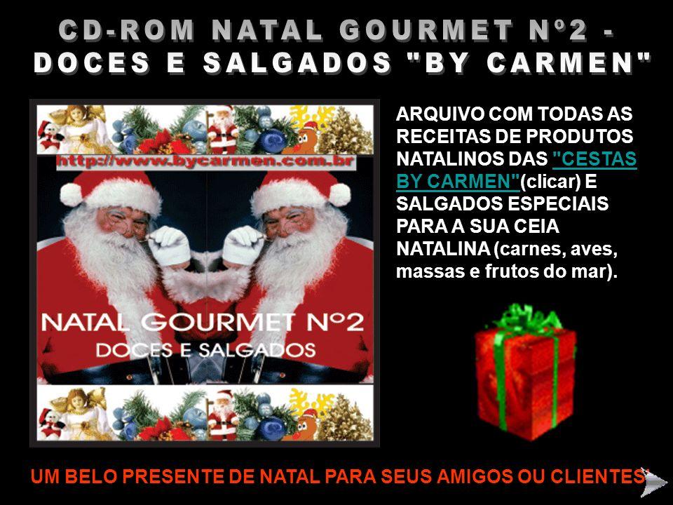 CD-ROM NATAL GOURMET Nº2 - DOCES E SALGADOS BY CARMEN