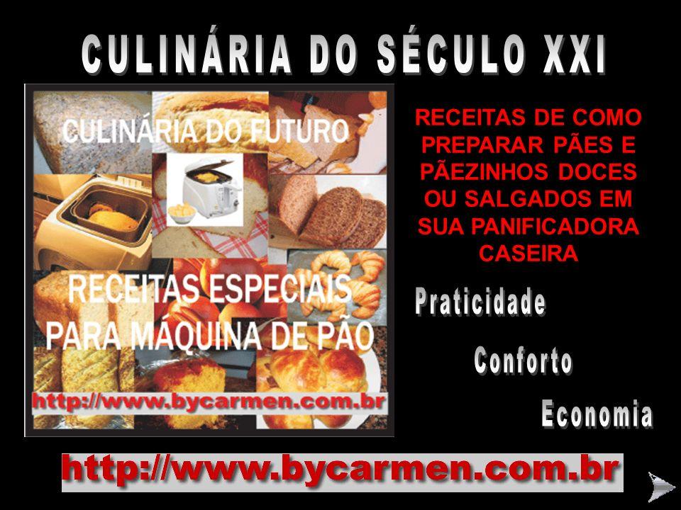 CULINÁRIA DO SÉCULO XXI
