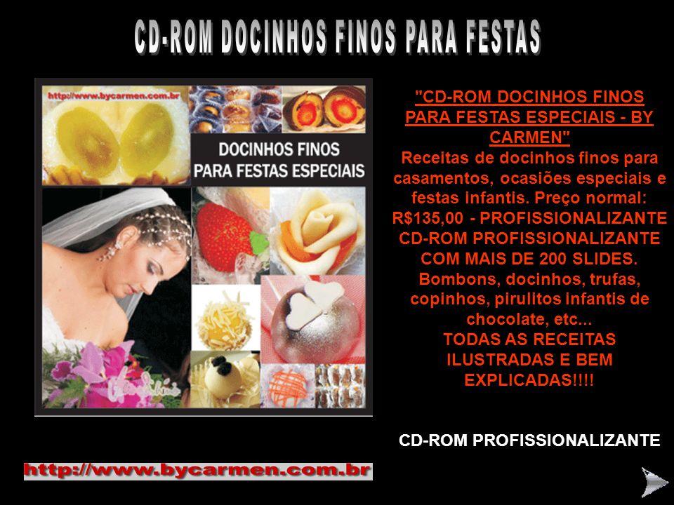 CD-ROM DOCINHOS FINOS PARA FESTAS