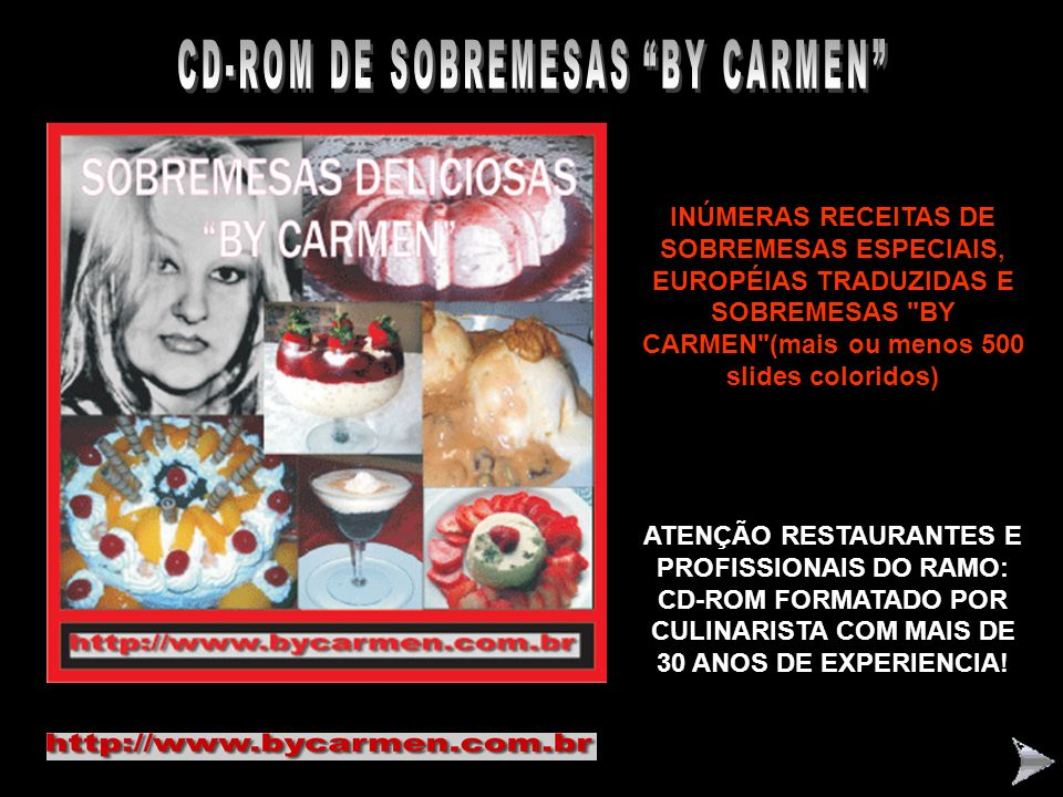 CD-ROM DE SOBREMESAS BY CARMEN