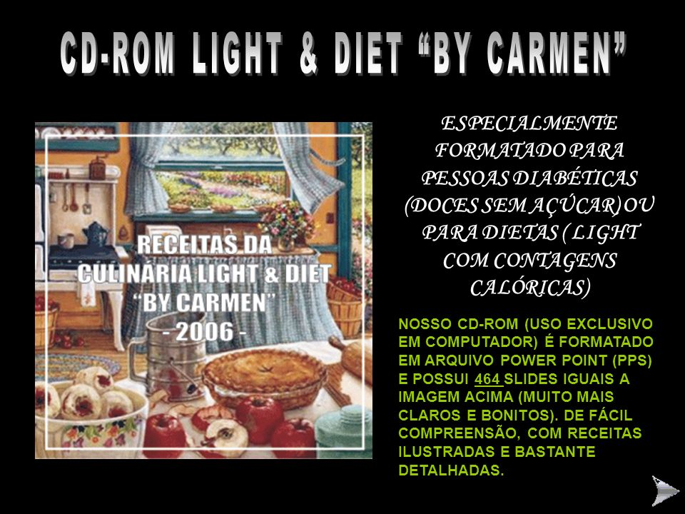 CD-ROM LIGHT & DIET BY CARMEN