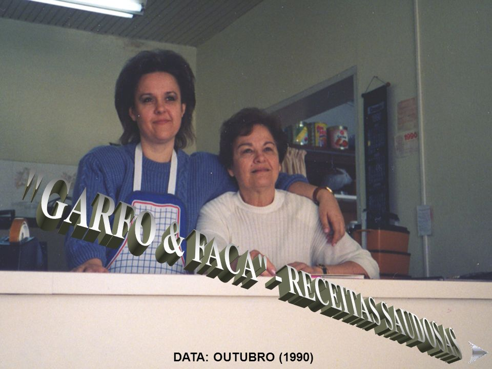 GARFO & FACA - RECEITAS SAUDOSAS