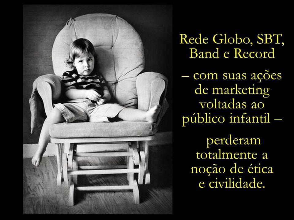 Rede Globo, SBT, Band e Record – com suas ações