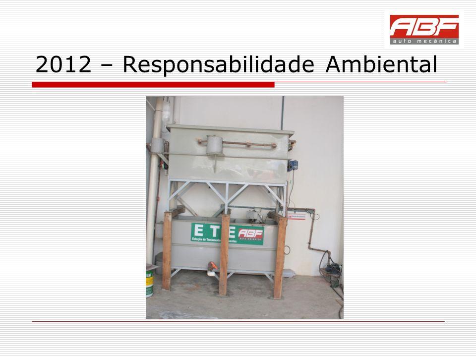 2012 – Responsabilidade Ambiental