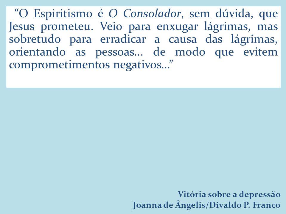 O Espiritismo é O Consolador, sem dúvida, que Jesus prometeu