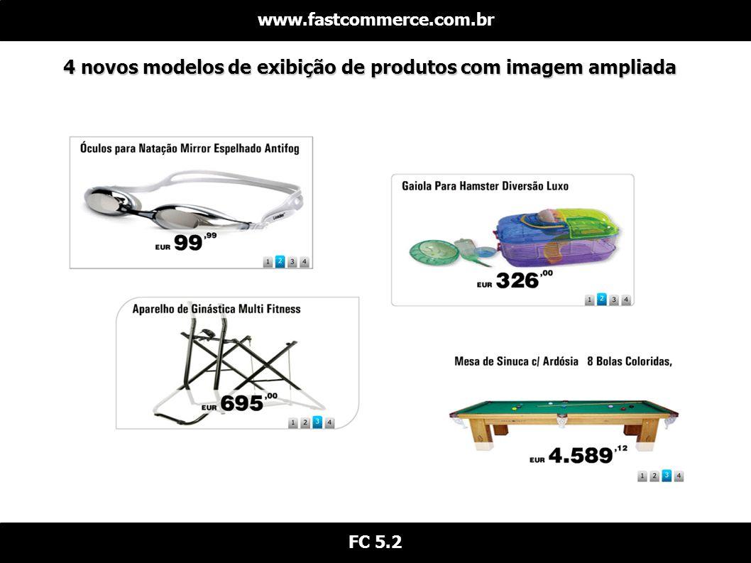 4 novos modelos de exibição de produtos com imagem ampliada