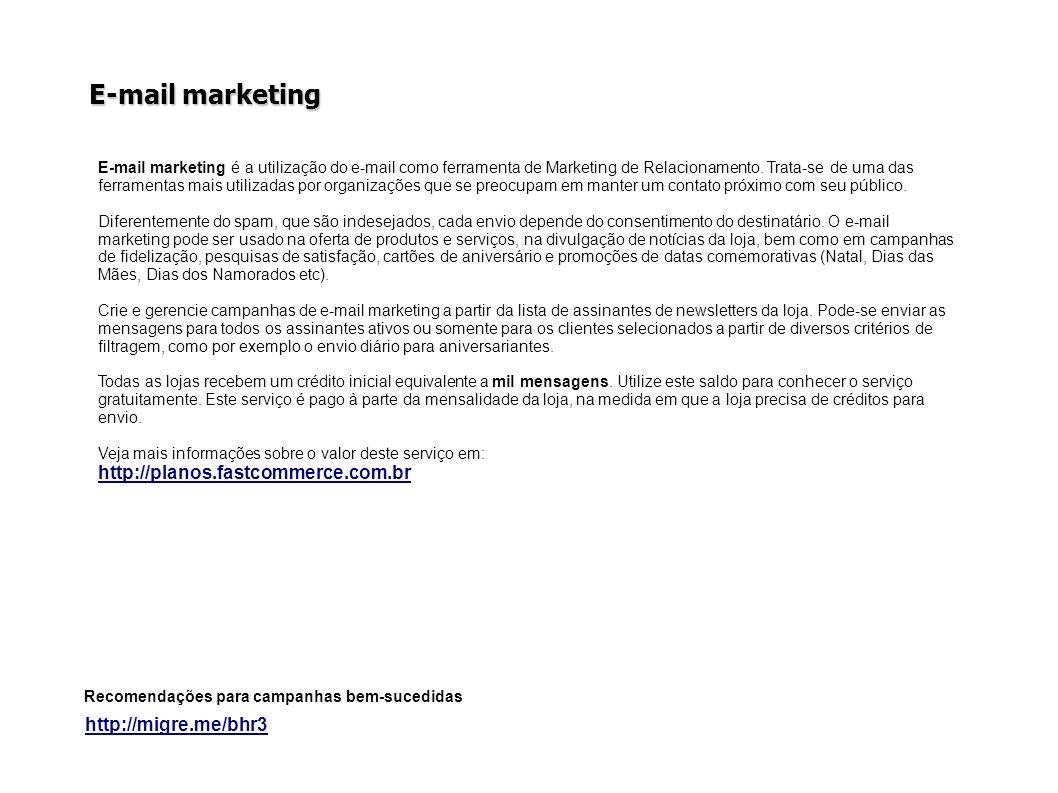 E-mail marketing http://planos.fastcommerce.com.br
