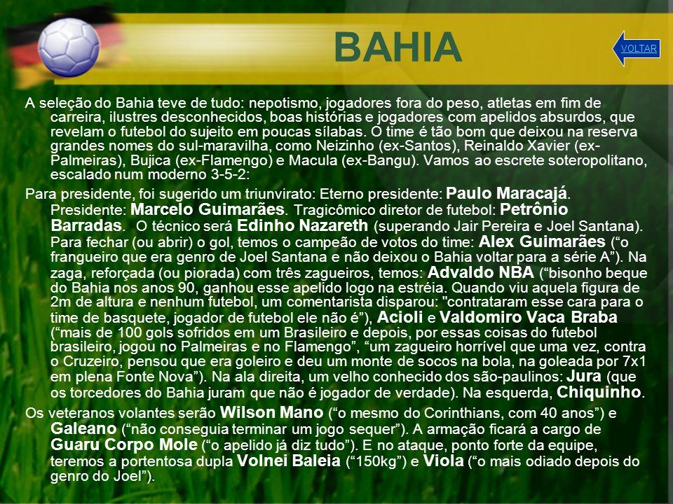 BAHIA VOLTAR.