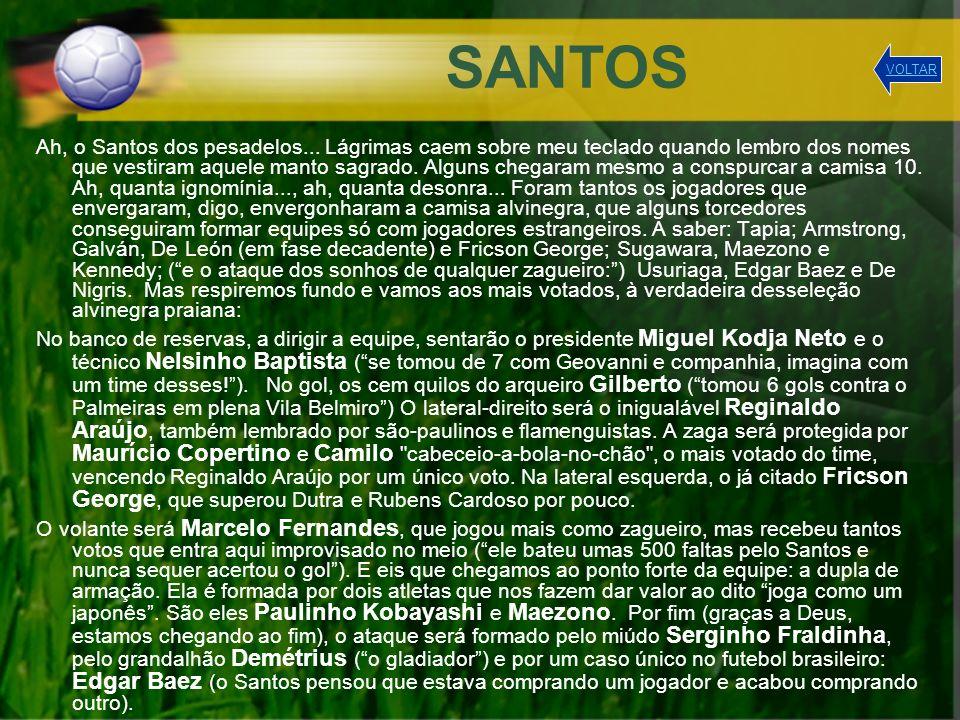 SANTOS VOLTAR.