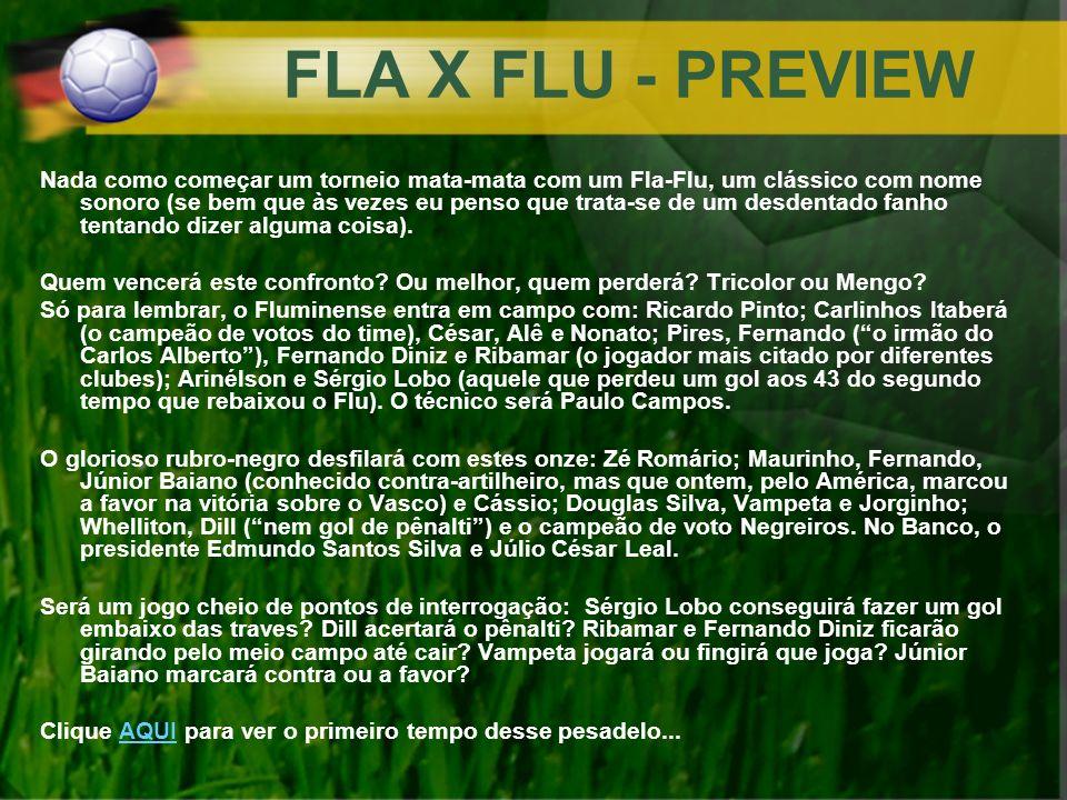 FLA X FLU - PREVIEW