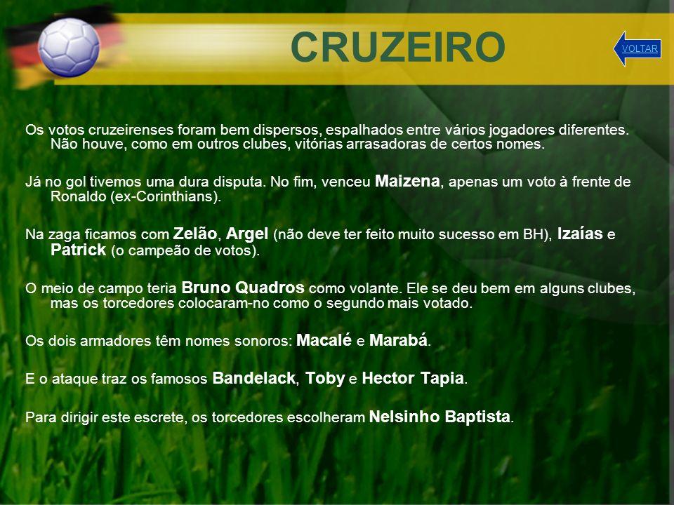 CRUZEIRO VOLTAR.