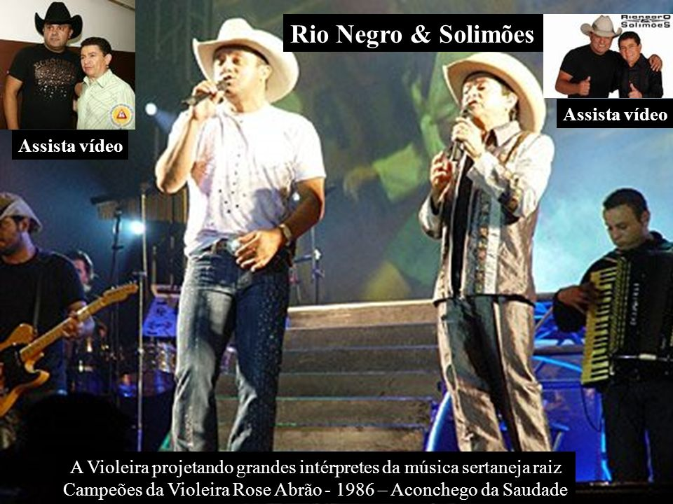 Rio Negro & Solimões Assista vídeo Assista vídeo
