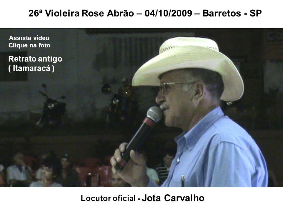 Locutor oficial - Jota Carvalho
