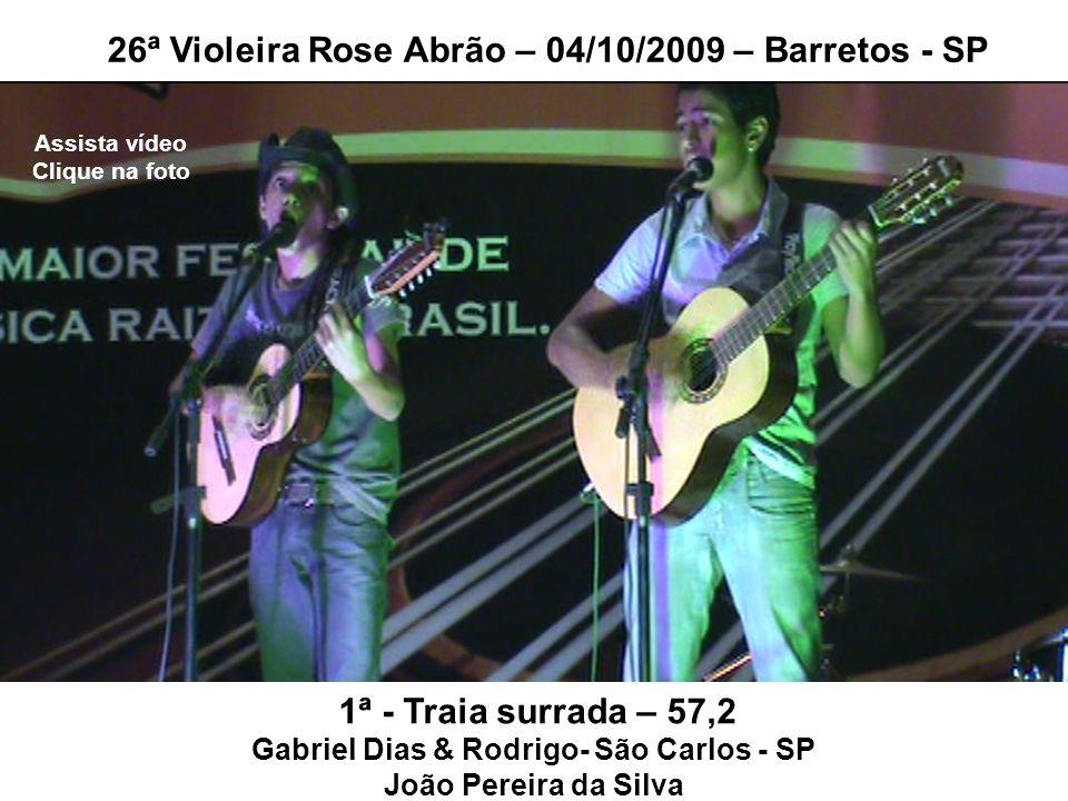 Gabriel Dias & Rodrigo- São Carlos - SP