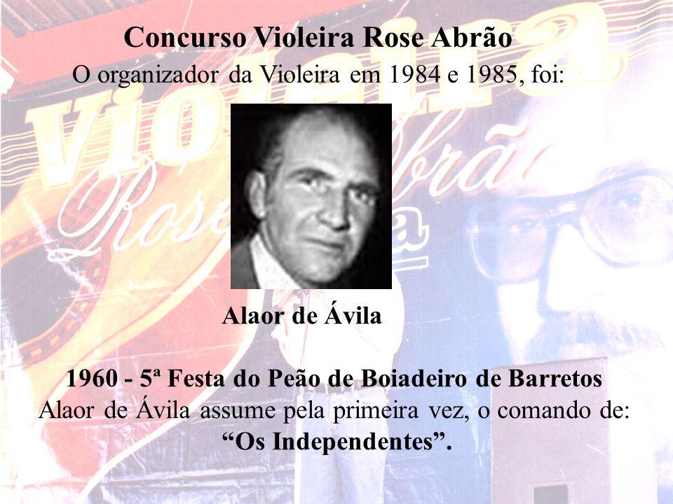 Concurso Violeira Rose Abrão