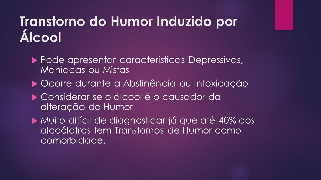 Transtorno do Humor Induzido por Álcool