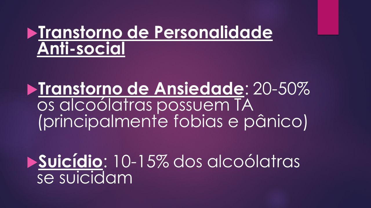 Transtorno de Personalidade Anti-social