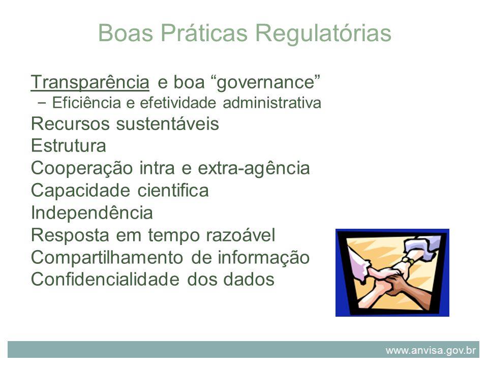 Boas Práticas Regulatórias