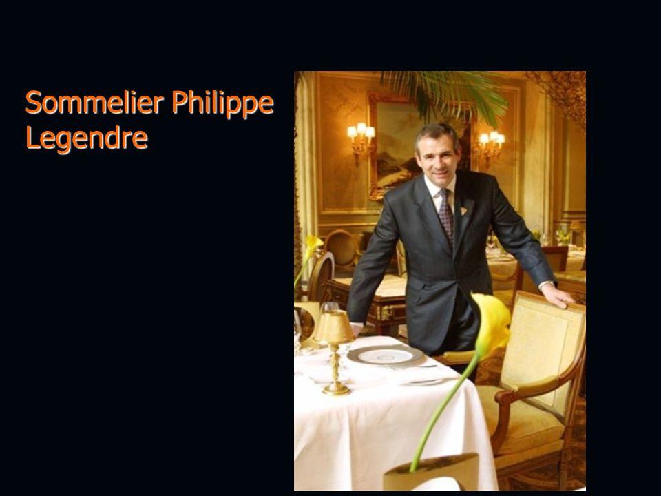 Sommelier Philippe Legendre